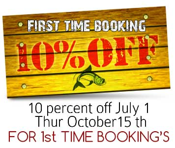Tarpon Tamer 10% off 1st booking