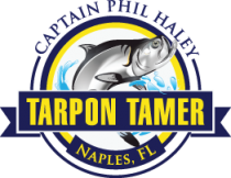 Tarpon Tamer Fishing Charters Lee County swf. Logo